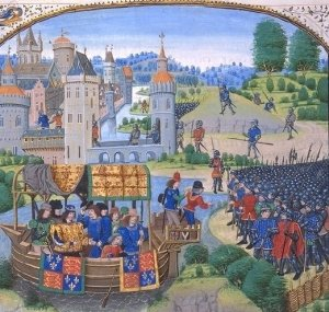 Richard_II_and peasants tax revolt