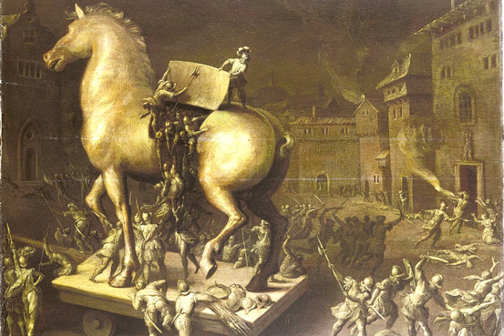 an analysis of the trojan army and the temptation of odysseus How to write literary analysis the strongest hero in the greek army, the odyssey focuses on a tormented by temptation: in general, odysseus and his men want.